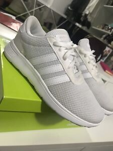 Adidas Neo White Size 3.5Y equivalent to 5.5 woman's
