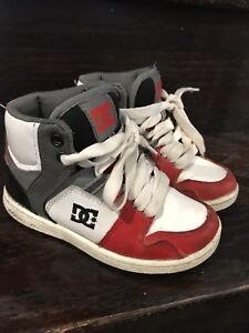 Boys dc running shoes size 12