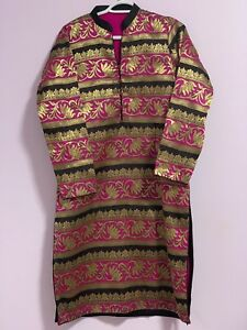 New fancy high quality jamawar suit in medium to large size