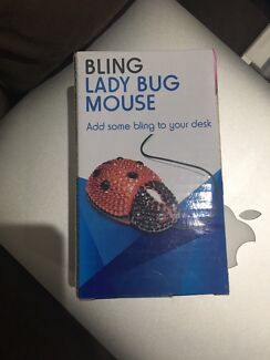 Wanted: Computer mouse- ladybug bling