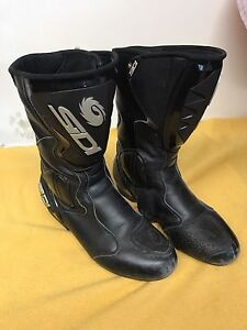 Sidi Motorcycle Racing Boots Size 8