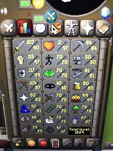 Runescape Main Account