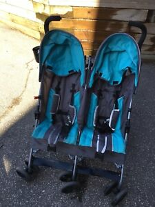 Umbrella Double Stroller