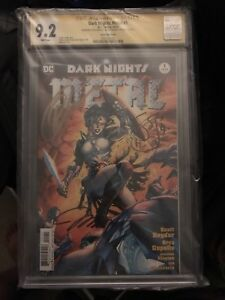 DC Dark Nights Metal #1 9.2 CGC