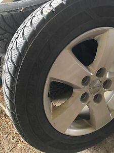Dodge Journey Snow Tires and Rims