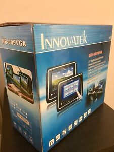 "Innovatek 9"" digital panel headrest grey"