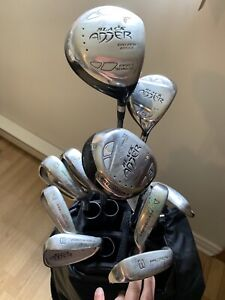 Black Adder Golf Clubs with Bag