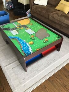 Thomas the Train and Friends wooden set with Table