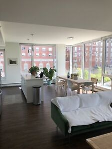Gorgeous Sun-Filled 2-Bed Apt in South End Available To Sublet!
