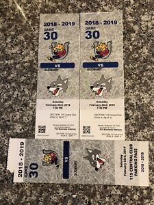 Barrie Colts vs Sudbury February 23 best seats