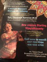 Bhrathanatyam classes