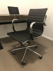"Black Structube ""Spencer"" Chair"