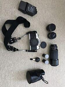 Minolta X-370 Camera