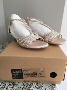 Prom Shoes colour is Nude