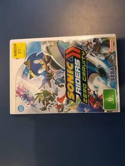 Sonic Riders Zero Gravity Wii Game