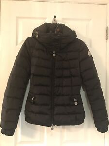 Moncler Down Jacket in Black