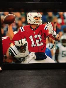 Signed Tom Brady picture