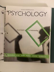 """""""Psychology: From Inquiry to Understanding"""""""