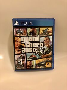 PS4 GTA5 for sale
