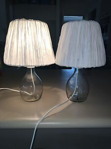 Bed side lamps Buderim Maroochydore Area Preview