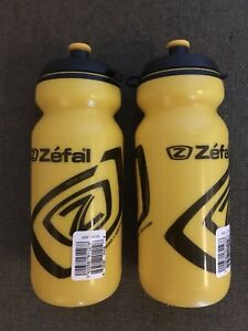 2 Zefal cycling water bottles - new
