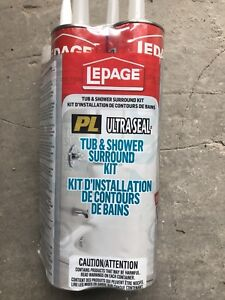 Lepage tub & shower surround kit