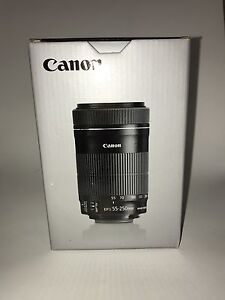 Objectif Canon 55-250mm