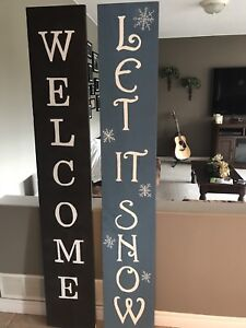 Homemade Outdoor Wooden Signs
