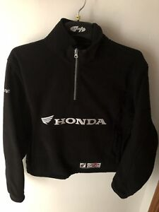 Joe Rocket/ Honda pullover black fleece