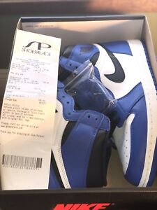 Jordan 1 game royal size 11