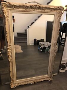 Custom mirror with gorgeous frame
