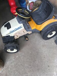 Ride on Cub Cadet Tractor Lawn Mower