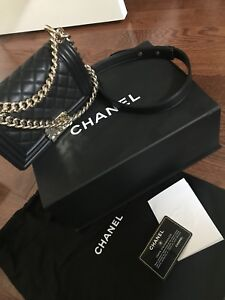 AUTHENTIC CHANEL BOY SMALL