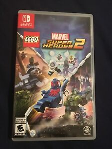 Nintendo switch: LEGO Marvel Super Hero's 2
