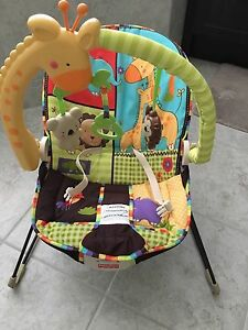 Fisher Price Vibrating and Bouncy Chair