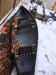 Mint light weight canoe