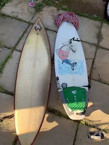 Rusty Surfboard + other
