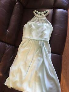 Mint Green Dress (David's Bridal)
