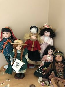 Price Reduction!! Porcelain Dolls