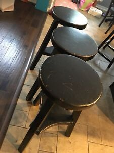 Counter/bar stools - set of 3
