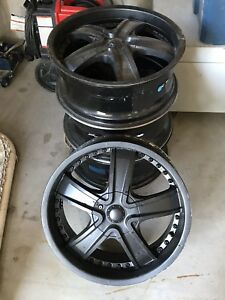 "18"" Aluminum Winter Rims"