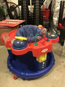 Exersaucer activity table
