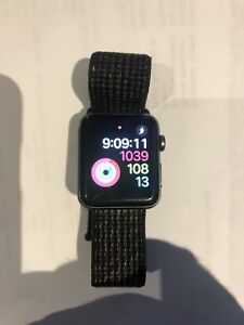 Apple Watch series 3 space grey aluminum GPS  and Cellular