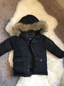 New Down toddler winter parka
