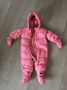 Baby gap snowsuit 12-18 months
