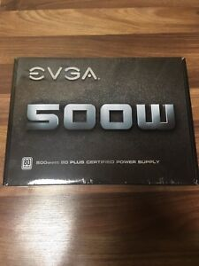 (Brand new) EVGA 500 watt psu