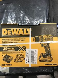 Dewalt compact brushless drill/driver set