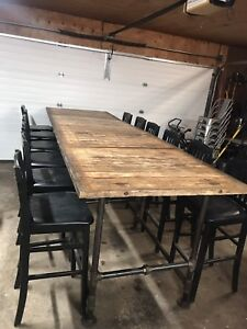 Rustic Table / Bar.