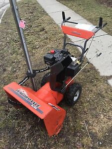 Noma Snowblower  8hp 24inch. Works great.