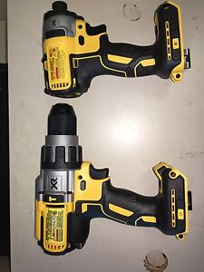 PAWN PRO'S HAS DEWALT BRUSHLESS MADE IN USA DRILL/IMPACT COMBO